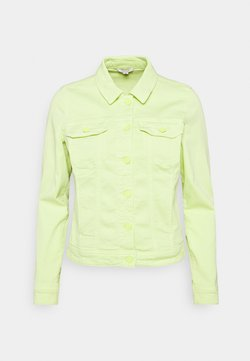 comma casual identity - Giacca di jeans - lime