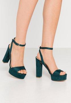 Even&Odd - Sandalen met hoge hak - green