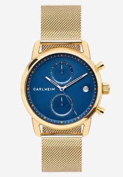 Carlheim - NICHOLAS  - Rannekello ajanottotoiminnolla - rose gold/blue