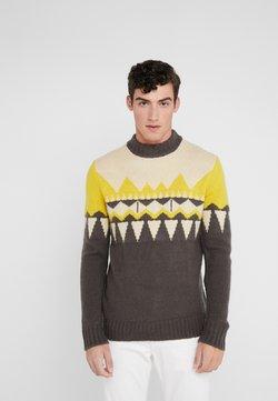DRYKORN - ZAYN - Pullover - beige/grey/yellow