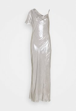BCBGMAXAZRIA - EVE LONG DRESS - Occasion wear - silver