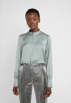 Bruuns Bazaar - BAUME ELIZABETH BLOUSE - Bluser - jade green