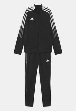 adidas Performance - TIRO SET UNISEX - Verryttelypuku - black