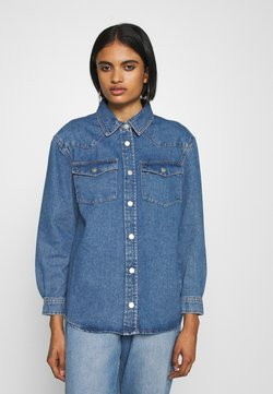 ONLY - ONLJEREMY LIFE SHIRT - Camicia - blue denim