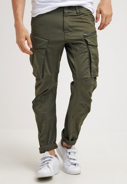 G-Star - ROVIC ZIP 3D STRAIGHT TAPERED - Cargobroek - dark bronze green