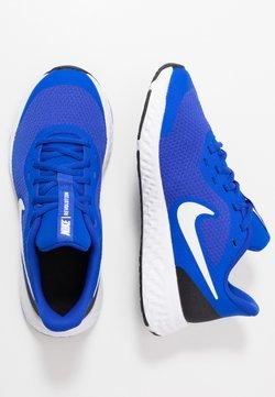 Nike Performance - REVOLUTION 5 UNISEX - Juoksukenkä/neutraalit - racer blue/white-black