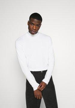 Jack & Jones PREMIUM - JPRBLARAY ROLL NECK - Langærmede T-shirts - white