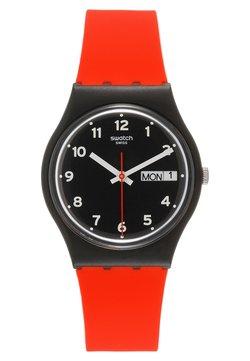 Swatch - RED GRIN - Uhr - black