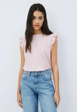 Pepe Jeans - DAISY - T-shirt con stampa - rosa