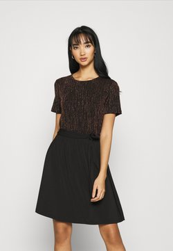 ONLY - ONLFURIOUS DRESS - Korte jurk - black/burnt henna