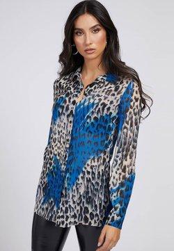 Guess - Hemdbluse - mehrfarbig, grundton blau