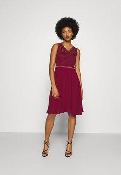 WAL G. - SKYLAR DRESS - Occasion wear - wine
