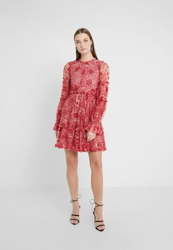 Needle & Thread - ANYA EMBELLISHED DRESS - Sukienka letnia - cherry red