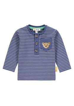 Steiff Collection - MIT KLEINER BRUSTTASCHE - T-shirt à manches longues - deep cobalt