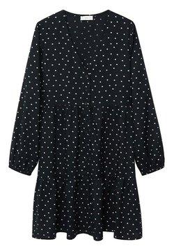 Mango - BELLES - Blusenkleid - zwart