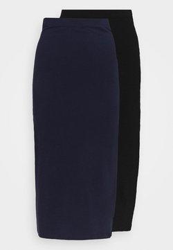 Even&Odd - 2 PACK - Gonna a tubino - black/dark blue