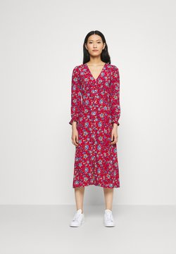 Springfield - MIDI FLOR INDIA - Day dress - red/coral