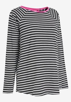 Next - Maglietta a manica lunga - black/white