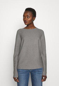 DRYKORN - MAILA - Stickad tröja - light grey melange