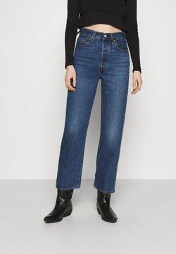 Levi's® - RIBCAGE STRAIGHT ANKLE - Straight leg jeans - noe fog