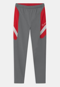 Nike Performance - DRY ACADEMY - Jogginghose - smoke grey/university red/darkk smoke grey