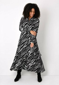 Live Unlimited London - ZEBRA PRINT - Maxikleid - black