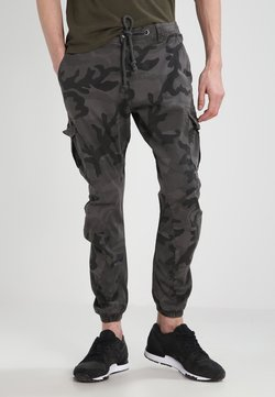 Urban Classics - Pantalon cargo - grey camo
