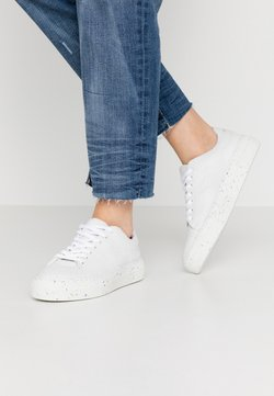 Vero Moda Wide Fit - VMEMMIE WIDE FIT - Sneakers laag - snow white
