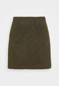 YAS Petite - YASSAROJIN SHORT SKIRT ICON - Minifalda - black olive