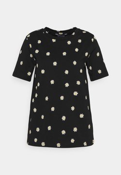 Marks & Spencer London - STRAIGHT TEE - T-Shirt print - black