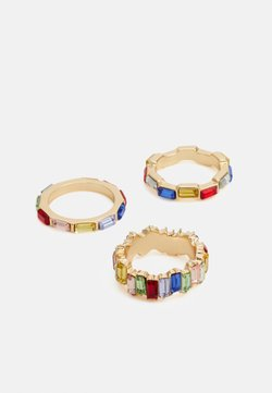 Pieces - PCEDITH 3 PACK - Anillo - gold-coloured