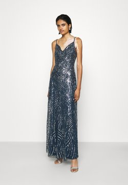 Lace & Beads - FRANCINE MAXI - Ballkleid - navy