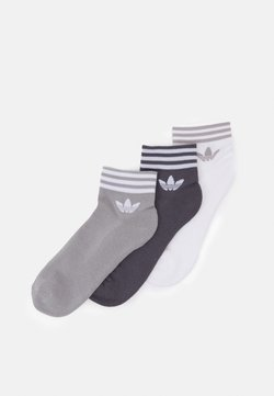 adidas Originals - TREF UNISEX 3 PACK - Socken - white/grey/dark grey
