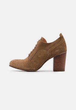 Felmini - MADELINE - Lace-up heels - marvin/morgan stone/cobre