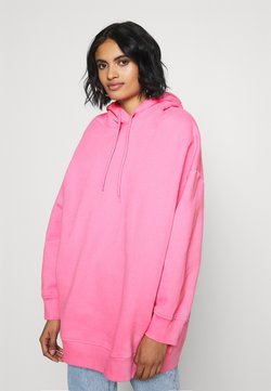 Monki - BAE HOODIE UNIQUE - Huppari - pink