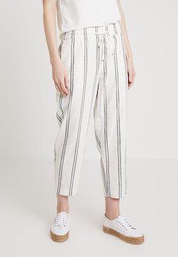 GAP - VERSATILE STRIPE - Jogginghose - black/white