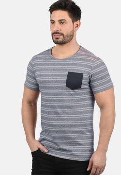 Solid - FIDEL - T-Shirt print - mottled light blue