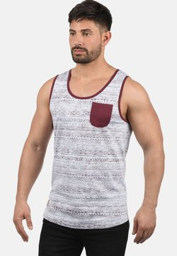 Solid - TANKTOP IMBRE - Top - wine red