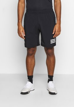 adidas Performance - CLUB SHORT - Träningsshorts - black/white