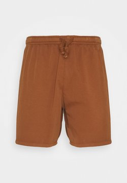 Kaotiko - BERMUDA BEACH TEJA - Jeansshort - brown