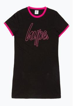 Hype - Freizeitkleid - black/pink