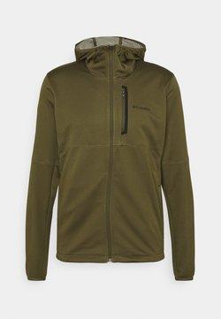 Columbia - TECH TRAIL™ HOODIE - Fleece jacket - new olive/safari