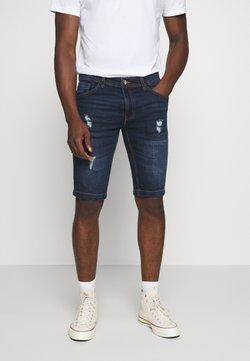 Redefined Rebel - HAMPTON - Jeans Shorts - mid blue