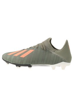 adidas Performance - X 19.3 FG - Fußballschuh Nocken - legend green/solar orange/white