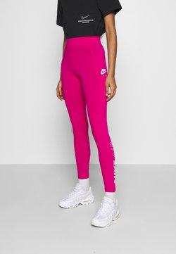Nike Sportswear - Leggings - fireberry/white
