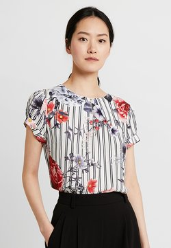 Betty & Co - Bluse - blue/red