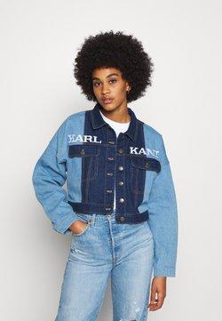 Karl Kani - RETRO BLOCK JACKET - Veste en jean - blue
