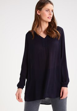 Kaffe - AMBER V NECK  - Tunic - midnight marine