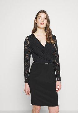 Lauren Ralph Lauren - BONDED DRESS - Vestido de cóctel - black