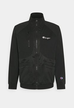 Champion Reverse Weave - FULL ZIP - Korte jassen - black